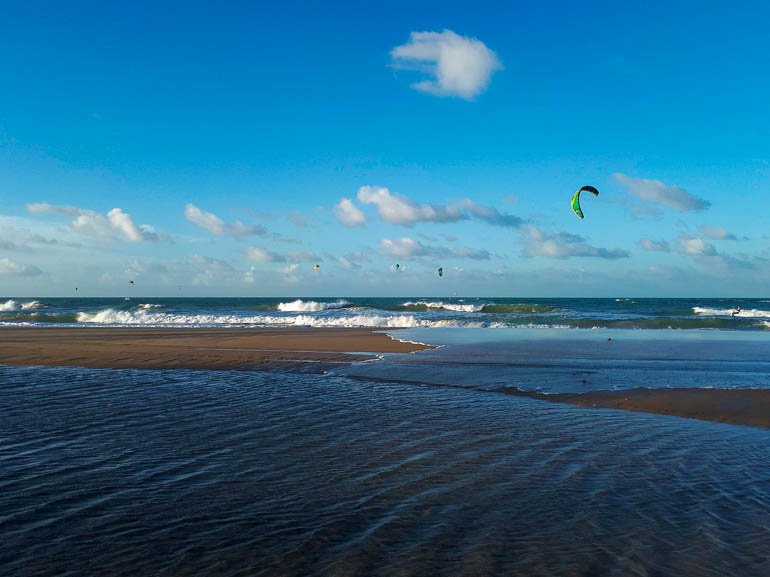 Kitesurfen in Guajiru