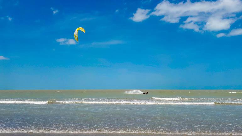 Kitesurfing in Jericoacoara