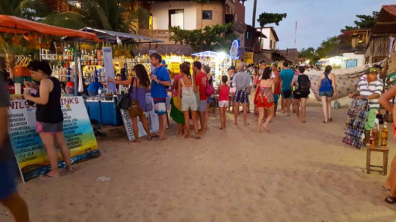 Jericoacoara beach party