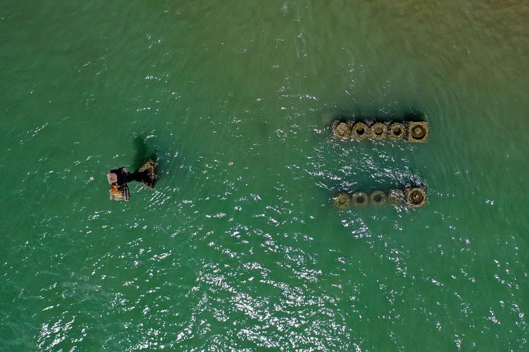 Schiffswrack in Macapa
