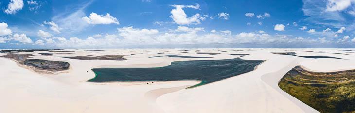 Wasser in der Wüste Brasiliens